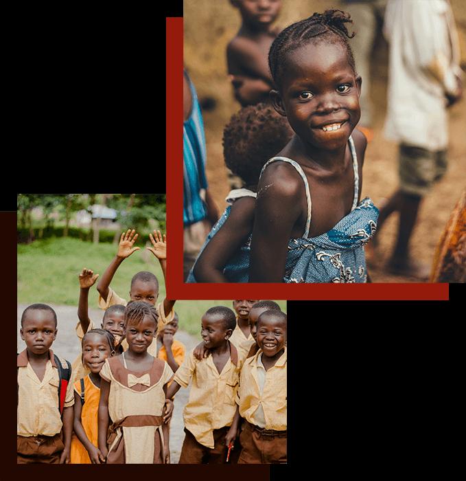Children in Kenya, Africa